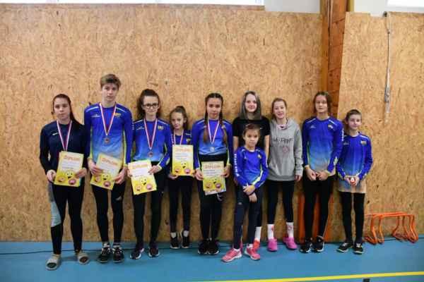 Kinder běh, běh o silvestrovské koleno - Český Brod 2019