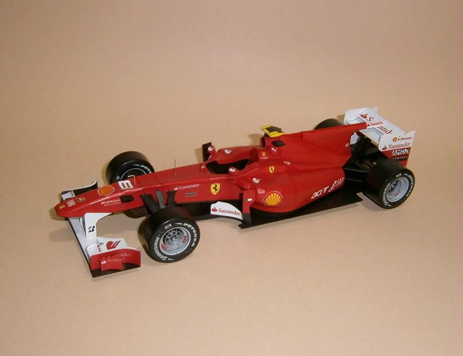 Ferrari F10 - F.Alonso, GP Italy 2010