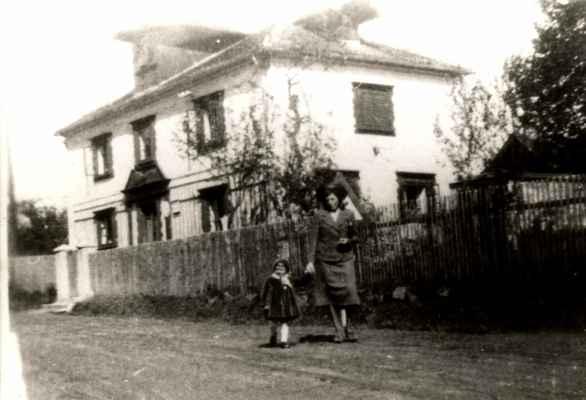 Hájovna Taranka v 50.letech.