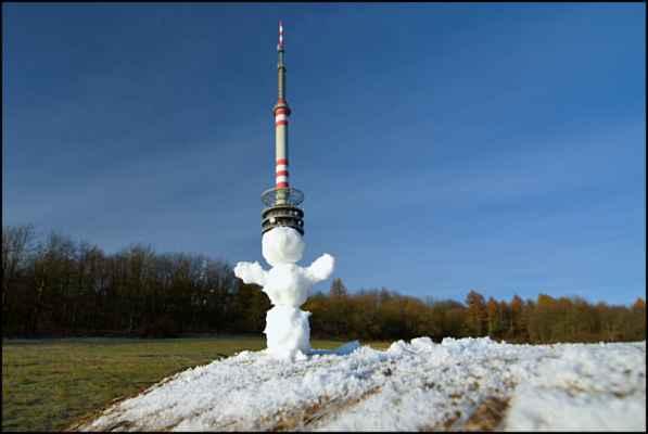 21.11.2020 Buková hora - dočasný strážce vysílače - posílá JirkaUL
