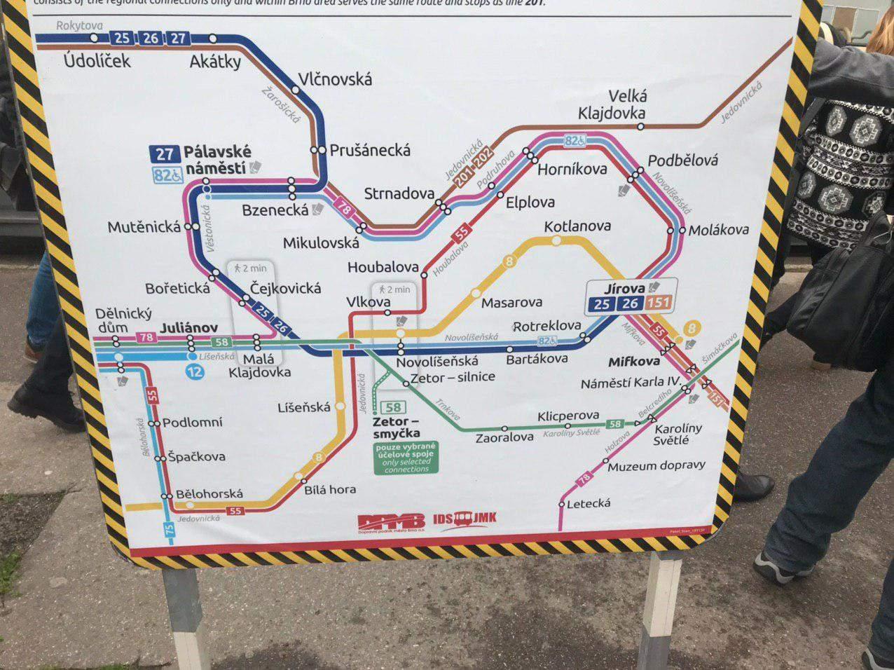 Plán novej trolejbusovej trate. Foto: Alžbeta Kyselicová