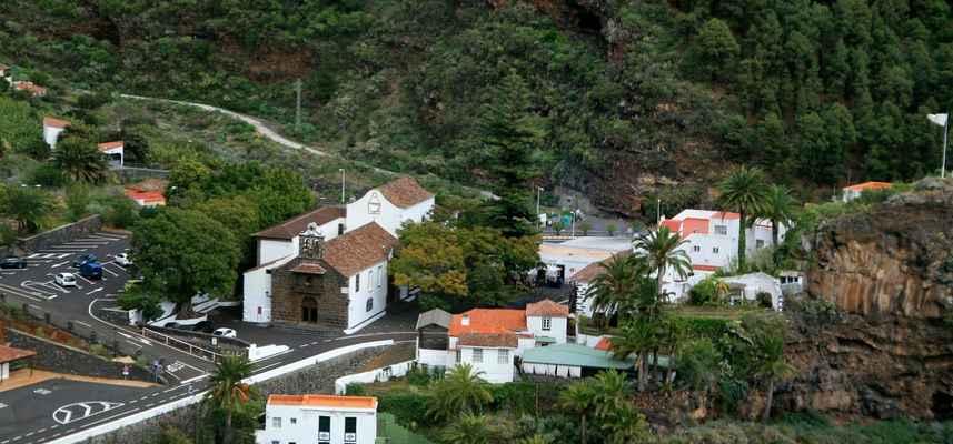 ...kostel Nuestra Seňora de La Nieve, jeden z nejstarších na ostrově...