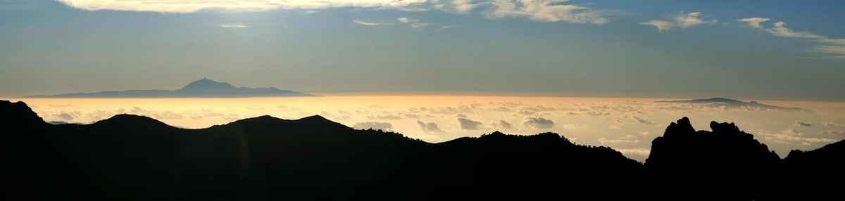 ...ostrov Tenerife a ostrov La Gomera...