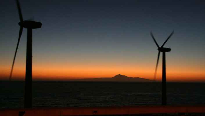 ...takhle se se mnou La Palma ráno rozloučila...