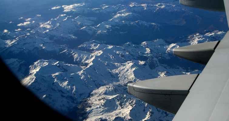...zasněžené Pyreneje.