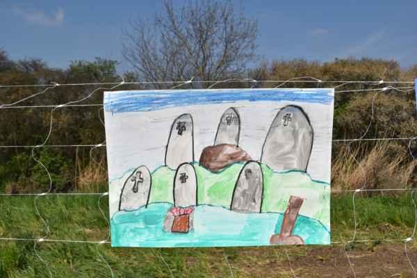Pravdepodobné židovský cintorín v Skalici.