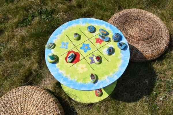 Boli tu nachystané aj rôzné hry pre deti ale aj dospelákov.