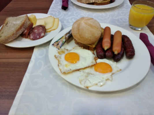 A dva talíře k snídani :-D