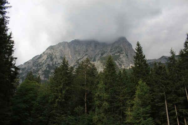 A to už je údolí Vrata směr Triglav