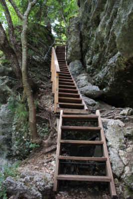 Takové schody do nebe.....